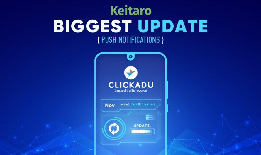 Great news from Clickadu team!