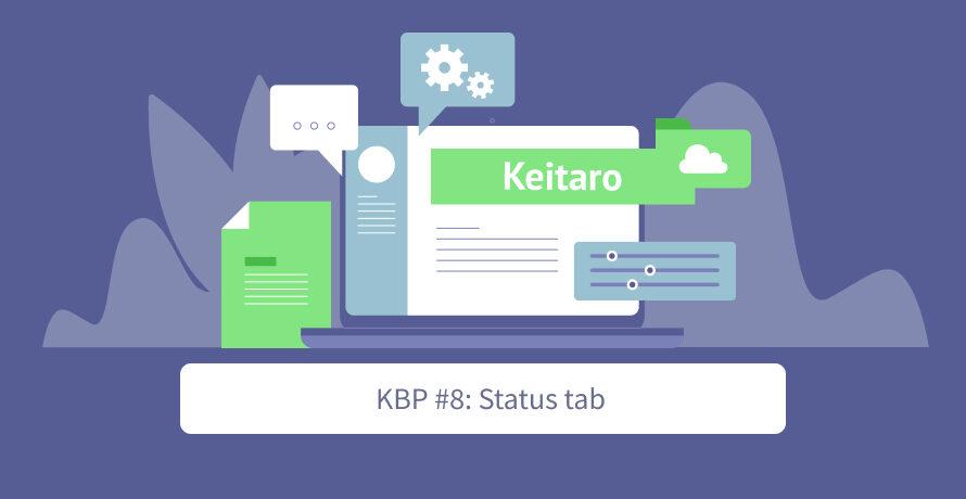 Keitaro Best Practices #8: Status tab